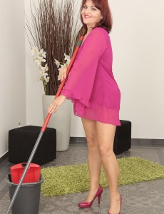 Older Natalia Muray Was Doing Chores but Began Feeling Frisky